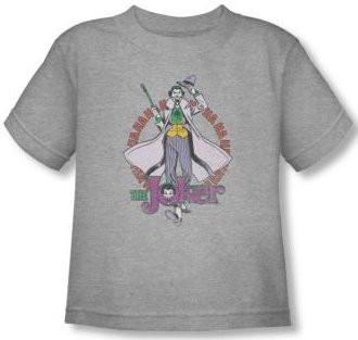 Image for The Joker Maniacal Toddler T-Shirt