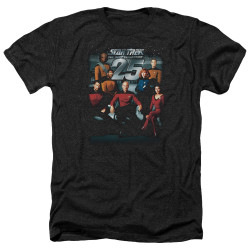 Image for Star Trek the Next Generation Heather T-Shirt - 25th Anniversary Crew