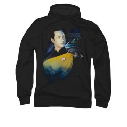 Image for Star Trek the Next Generation Hoodie - Data 25th