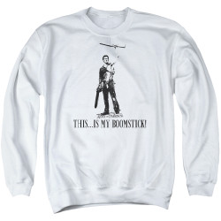 Image for Army Of Darkness Crewneck - Boomstick!