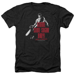 Image for Army Of Darkness Heather T-Shirt - Sugar