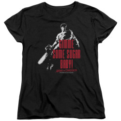 Image for Army Of Darkness Womans T-Shirt - Sugar