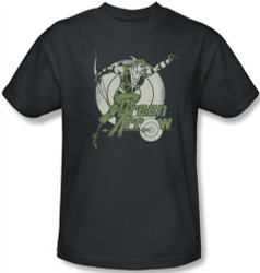 Image Closeup for Green Arrow Right on Target T-Shirt