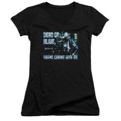 Image for Robocop Girls V Neck - Dead Or Alive