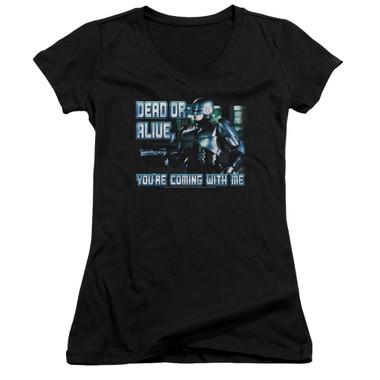 Image for Robocop Girls V Neck - Dead Or Alive