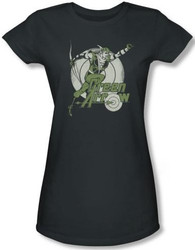 Image for Green Arrow Right on Target Girls Shirt