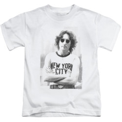 Image for John Lennon Kids T-Shirt - New York