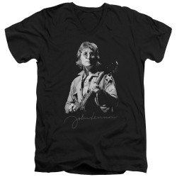 Image for John Lennon V Neck T-Shirt - Iconic