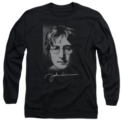 Image for John Lennon Long Sleeve Shirt - Sketch