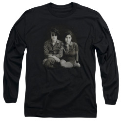 Image for John Lennon Long Sleeve Shirt - Beret