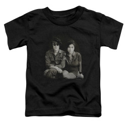 Image for John Lennon Toddler T-Shirt - Beret