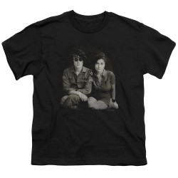 Image for John Lennon Youth T-Shirt - Beret