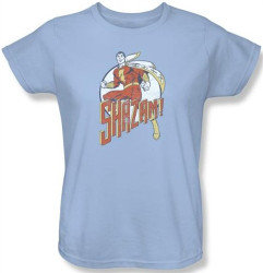 Image for Captain Marvel Stepping Out Woman's T-Shirt