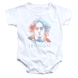 Image for John Lennon Baby Creeper - Colorful