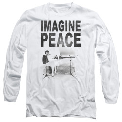 Image for John Lennon Long Sleeve Shirt - Imagine