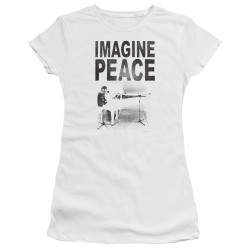 Image for John Lennon Girls T-Shirt - Imagine