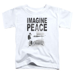 Image for John Lennon Toddler T-Shirt - Imagine