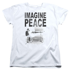 Image for John Lennon Womans T-Shirt - Imagine