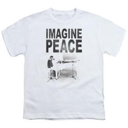 Image for John Lennon Youth T-Shirt - Imagine