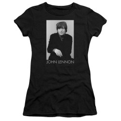 Image for John Lennon Girls T-Shirt - Ex Beatle