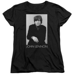 Image for John Lennon Womans T-Shirt - Ex Beatle