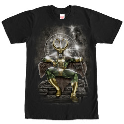 Image for Loki on the Throne T-Shirt