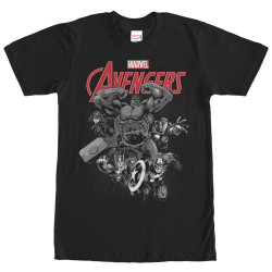 Image for Avengers Monotone T-Shirt