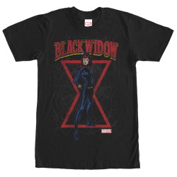 Image for Black Widow Web T-Shirt