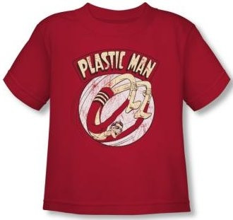 Image for Plastic Man Bounce Toddler T-Shirt