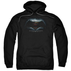 Image for Batman vs Superman Hoodie - Logo