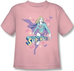 Image for Supergirl Pastels Kid's T-Shirt
