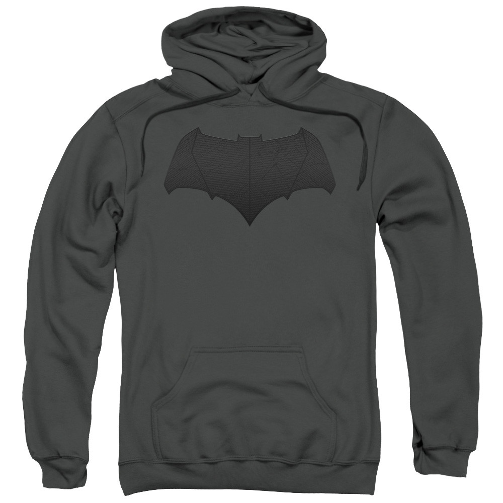 ae478045344ee7 Batman V Superman Hoodie - Batman Logo - NerdKungFu