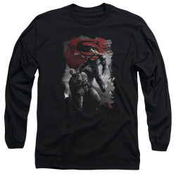Image for Batman vs Superman Long Sleeve Shirt - Choke