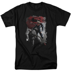 Image for Batman vs Superman T-Shirt - Choke