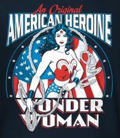 Image for Wonder Woman American Heroine T-Shirt