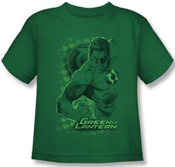 Image for Green Lantern Pencil Energy Kid's T-Shirt