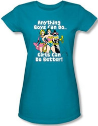 Image for Girls can do it Better Girls Shirt