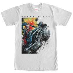 Image for Ghost Rider Painting T-Shirt