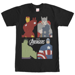 Image for Avengers Block Party T-Shirt