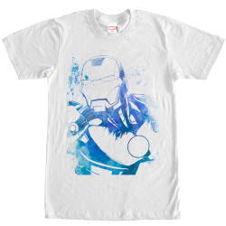 Image for Iron Man Watercolor T-Shirt