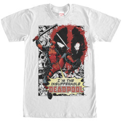Image for Deadpool Insufferable T-Shirt