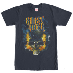 Image for Ghost Rider Burning Skull T-Shirt