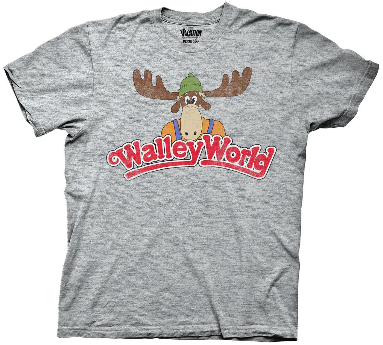 Wally World Logo Vacation TShirt  NerdKungFu