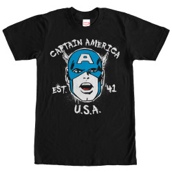 Image for Captain America Est. in '41 T-Shirt