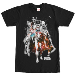 Image for Doctor Strange Monotone Doc T-Shirt