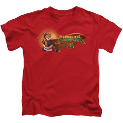 Image for Kung Fu Panda Kids T-Shirt - Po Logo