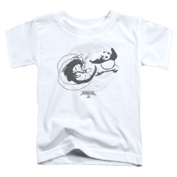 Image for Kung Fu Panda Toddler T-Shirt - Face Off