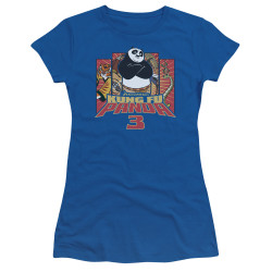 Image for Kung Fu Panda Girls T-Shirt - Kung Furry