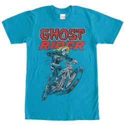 Image for Ghost Rider Hot Head Premium T-Shirt