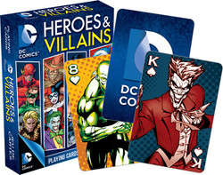Image for DC Comics Heroes & Villains Playing Cards
